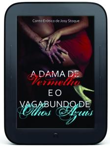 e-reader A Dama de Vermelho e o Vagabundo de Olhos Azuis