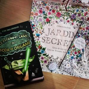 Jardim Secreto e O estranho caso do Yoda de Origami